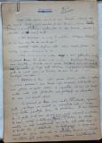 Aniversara ; Povestire ; Manuscris Romulus Vulpescu , 19 foi , semnat  , 1987