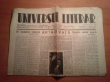 ziarul universul literar 4 aprilie 1942 (nr. cu ocazia zilei de pasti )