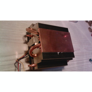 Cooler AMD Box original Eightcore cu 4 heatpipes impecabil model 5 754, 939, AM2, Am3, Am3+ Radiator aluminiu 4 heat-pipes din cupru Cititi cond