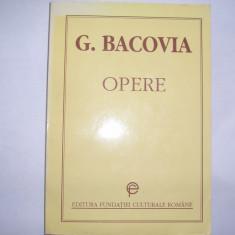 GEORGE BACOVIA - OPERE,rf2/1