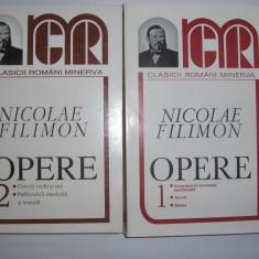 NICOLAE FILIMON OPERE 2 VOL, 1998