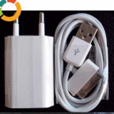 Incarcator compatibil iphone 4,3gs + cablu date