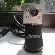Camera web Hercules Classic Silver - Webcam Hercules, Microfon