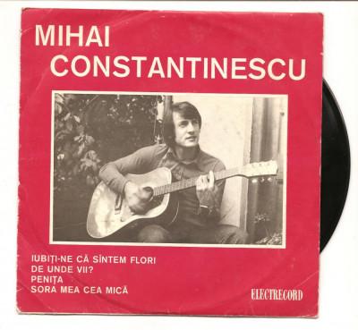 Perpetuum Mobile  Mihai Constantinescu vinil vinyl single EP foto