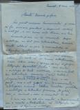 Scrisoare olografa a scriitorului Romulus Vulpescu , datata 6 iunie 1959