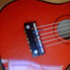 Mini chitara, chitara de jucarie, data cu lac, 53 cm - Instrumente muzicale copii
