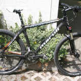 MTB Marvil Team Carbon - Mountain Bike, 18 inch, 26 inch, Numar viteze: 27, Discuri