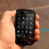 "V/S HTC Explorer, soft Carbon, 3, 5mp, 3, 2"" - Telefon HTC, Negru, Neblocat, Smartphone, Touchscreen"