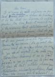 Scrisoare olografa a scriitorului Romulus Vulpescu , in limba franceza , 1