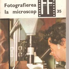 (C4046) FOTOGRAFIEREA LA MICROSCOP DE GH. MOHAN, EDITURA TEHNICA, BUCURESTI, 1982 - Carte Fotografie