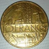 10 francs / franci 1980, Franta, stare XF