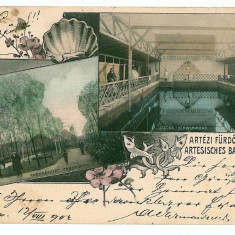 2601 - Litho, Banat, JIMBOLIA - old postcard - used - 1902 - Carte Postala Banat pana la 1904, Circulata, Printata