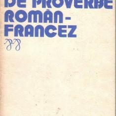 Elena Gorunescu-Dictionar de proverbe roman -francez