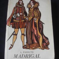 L. PASSUTH - MADRIGAL {1970}