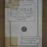 Corneille - Theatre complet (3 volume, in limba franceza) - Carte in franceza