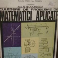 N. Teodorescu- Culegere de probleme matematici aplicate - Carte Matematica