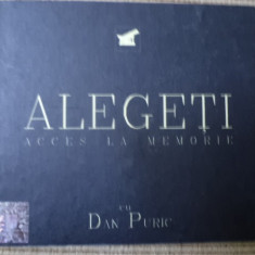 Dan Puric Alegeti Acces la memorie DVD 2008 - Audiobook