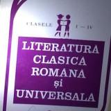 Literatura clasica romana si universala cls I-IV (Vol.1) - Manual scolar, Clasa 4