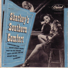 Vinil-Sharkey s Southern Comfort jazz-2 discuri, capitol records