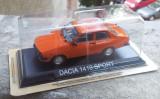 Macheta metal DeAgostini Dacia 1410 Sport noua - Masini de Legenda, 1:43