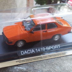 Macheta metal DeAgostini Dacia 1410 Sport noua+revista Masini de Legenda nr.26 - Macheta auto, 1:43