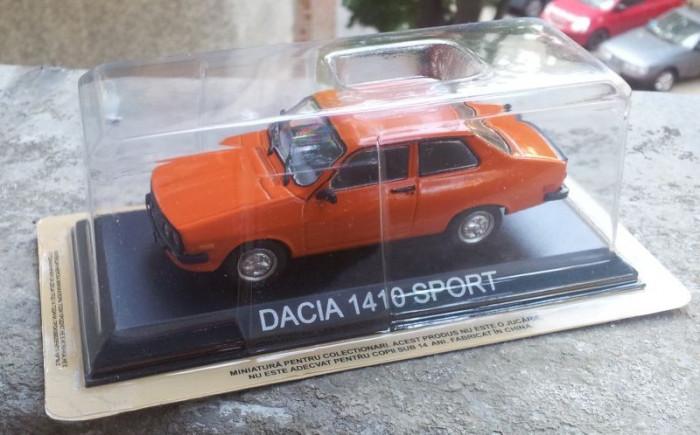 Macheta Dacia 1410 Sport noua - DeAgostini Masini de Legenda 1/43
