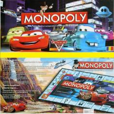 MONOPOLY CARS IN LIMBA ROMANA 2015 - Jocuri Board games