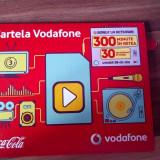 Vand Cartela Vodafone cu bonus 300 min / 30 mb net, fara credit
