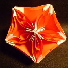 Origami Bubble Drop