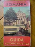 Dott. V. Reggiani - Romania guida automobilistica ghid turistic 1970 turism info ONT cultura arta folclor itinerarii obiective turistice 90 ilustratii
