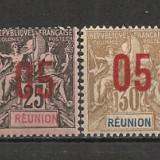 Reunion.1912 Alegoria coloniala-supr. SR.856