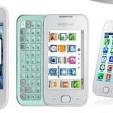 Samsung Wave 535 - Telefon Samsung, Alb, Neblocat, Smartphone, Touchscreen+Taste, 3.2 MP