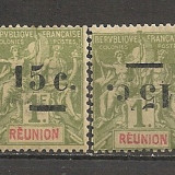 Reunion.1901 Alegoria coloniala-supr.ranversat-EROARE SR.854
