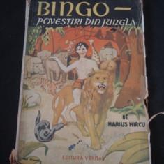 MARIUS MIRCU - BINGO * POVESTIRI DIN JUNGLA {1945} - Roman