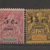 Reunion.1901 Alegoria coloniala-supr. SR.853