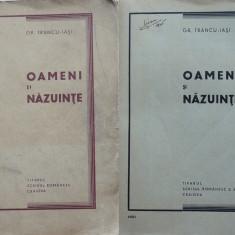 Gr. Trancu  Iasi , Oameni si nazuinte , Craiova , 1937