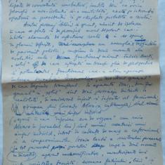 Nevasta, Nuvela ; Traducere dupa Corrado Alvaro, Manuscris olograf al lui Romulus Vulpescu, 23 pagini pe 22 foi, semnat - Pliant Meniu Reclama tiparita