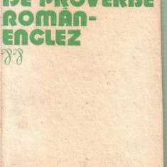 Virgil Lefter-Dictionar de proverbe roman-englez