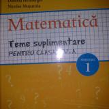 MATEMATICA - Teme suplimentare pentru clasa a V a SEMESTRUL 1 - Costel Chites
