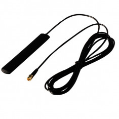 Antena GSM, 3G, connector SMA male, cablu RG174 1,5m for modem, gps tracker