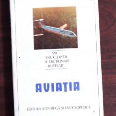 (AVIATIE) AVIATIA - MICA ENCICLOPEDIE - FLORIN ZAGANESCU