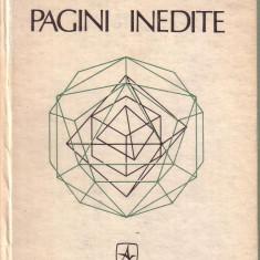 Dan Barbilian-Ion Barbu-Pagini inedite