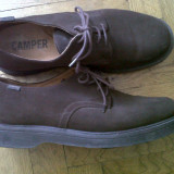 Pantofi Superbi NOI ORIGINALI CAMPER ! SUPER OKAZIE - Pantofi barbat Camper, Marime: 44, Culoare: Moka