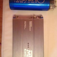 Vand Subwoofer MTX + Amplificator MTX + Condensator auto ! - Pachete car audio auto
