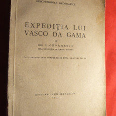 Gh.I.Georgescu - Expeditia lui Vasco Da Gama - ed. 1941