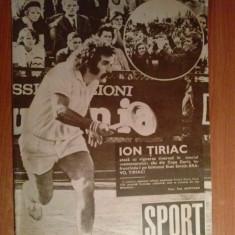 Revista sport nr.19/1972 (bucuresti 1972 a 61-a finala a cupei davis )
