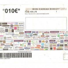 TICHET 10 EURO FRANTA