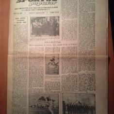 ziarul sportul popular 17 septembrie 1955