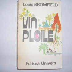 Vin Ploile -Roman al Indiei Moderne - Louis Bromfield,rf1