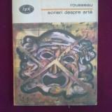 H2 Jean-Jaques Rousseau - Scrieri despre arta - Filosofie